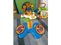 Baby toddler sit to stand toy