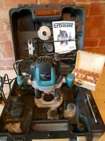 Erbauer Router 240v 2100w with adjustable collar