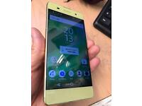 Sony Xperia XA, lime gold 16gb 4G 5 inch factory unlocked
