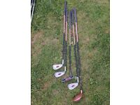 Junior Left handed Ogre driver, putter and 5,6,7 irons