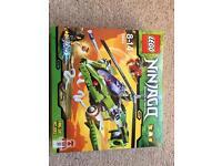 Lego Ninjago snake helicopter