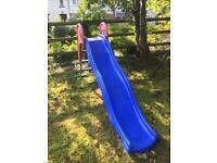 Outdoor children's slide