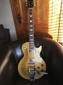 Tokai Japanese Love Rock gold top