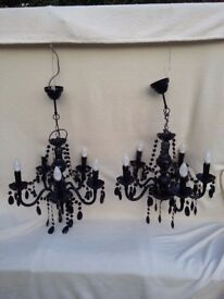 Chandelier electric lights