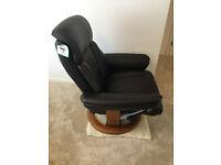Ayr luxury reclining swivel Chair