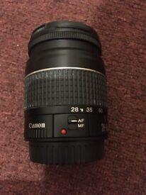 Canon 28-80mm lens