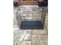 Dog training crate £20