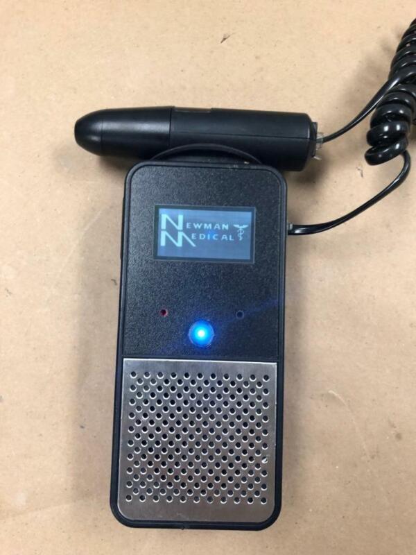 Handheld 8 MHz Vascular Doppler probe by Newman Medical WORKS WELL