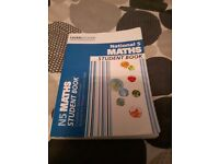 National 5 maths Leckie and Leckie textbook