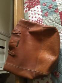 Real Leather Fat Face Bag