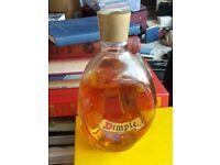 Old dimple bottle