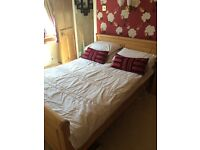 Bedroom furniture for sale, bed, side cabinets, chest of drawers,wardrobe