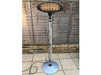 Mains electric garden patio heater