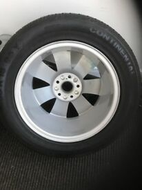 Never used Audi wheel and tyre never used