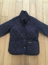 Navy Blue Barbour Jacket