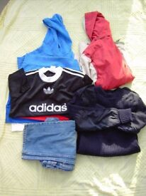 Bundle. Boys age 9 to 12 yrs. Anorak,T-Shirts,Jeans and Jumpers