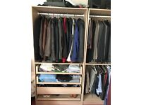 Quality large double wardrobes