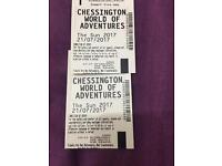 Chessington world of adventures tickets