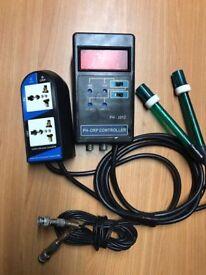 Aqua Medic PH ORP Controller Set for marine tropical reef fish tank aquarium