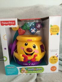 Fisher Price Cookie Jar toy. Brand new in unopened box.