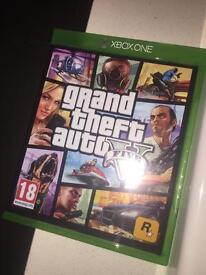 Xbox One- Grand Theft Auto Five ( V).