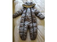 Ted Baker Baby Girls Snowsuit 18-24 months mint