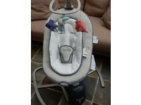 Babymoov swoon motion baby cradle/swing/rocker suitable from birth