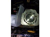 Cagiva mito 164cc polini cylinder head & piston