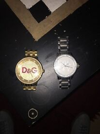 Two watches for sale, great condition don't wear them anymore