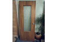Part glazed internal doors