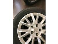 "Vauxhall wheels 16"""