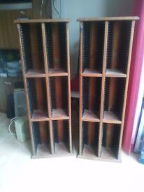 2 x CD towers