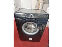 HOOVER 7KG 1400rpm black washing machine with 6 months warranty