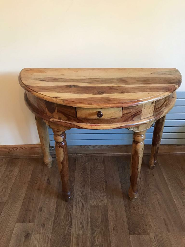Sheesham wood table