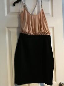 Black Champagne dress. Size 10. Brand New. Pink Boutique