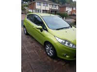 Ford Fiesta 1.4 Zectec, Green, Automatic, Low Mileage