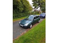 Ford focus 1.6 2002 Excellent Condition MOT till aug 2018