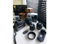Nikon D7000 with two lenses and battery grip Sell or Swap
