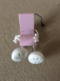 Pink chair speaker