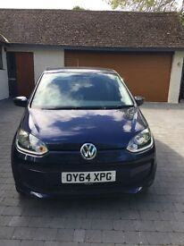 VW UP 'Move up' Sat Nav Bluetooth Metalic Paint Air Con Electric Windows
