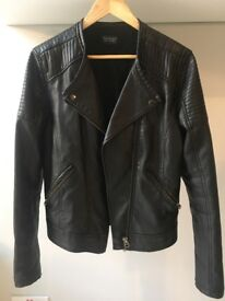 Women's Biker Leather Jacket: top shop