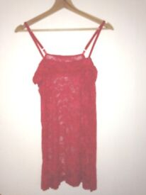 GEMZ LINGERIE RED SIZE M