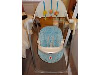 Chicco Polly up baby swing