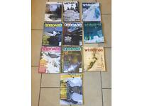 Snowboarding magazines