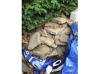 FREE - Natural sandstone path - GONE PENDING UPLIFT.