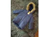 Brand new with tags john lewis boys coat 3-4 years