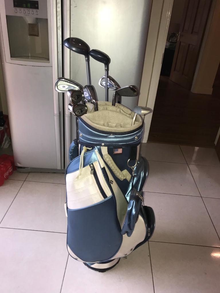 Full set of Ladies golf clubs. Brand new,