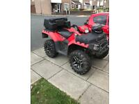 Polaris sportsman 550 efi 2010 road legal quad
