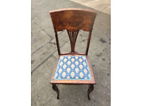 Lovely Bedroom Chair must be seen . In good condition , and good quality.