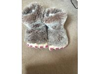 Girls slippers from Next size 3